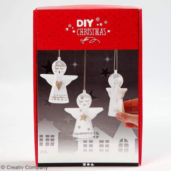 Kit décorations de Noël - Anges -13 pcs - Photo n°2