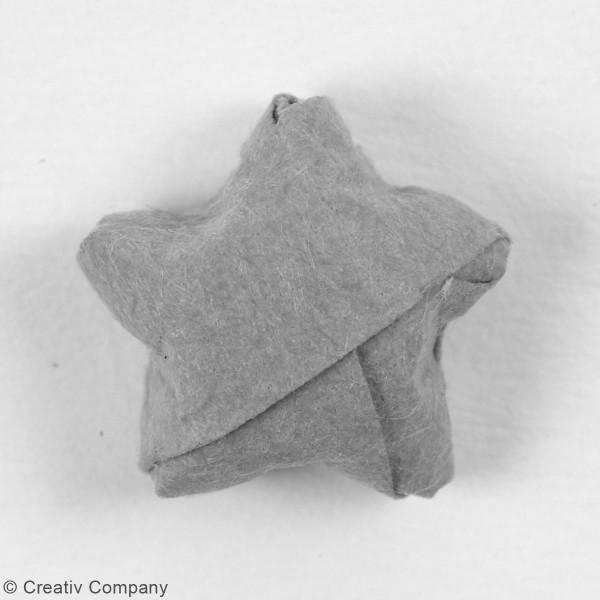 Papier Quilling Tricolore - 5 mm - 100 pcs - Photo n°3