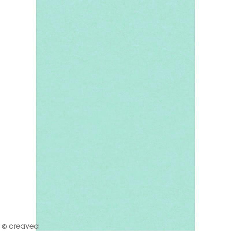 papier de soie vert d 39 eau x 8 feuilles 50 x 75 cm papier de soie uni creavea. Black Bedroom Furniture Sets. Home Design Ideas