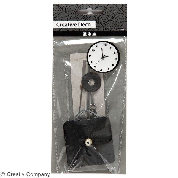 Mécanisme Horloge - Epaisseur max 3 mm - 1 pce - Photo n°3