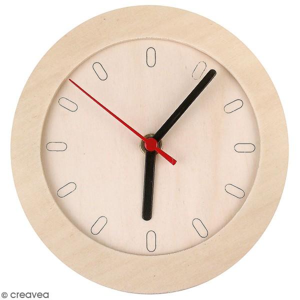 Horloge ronde à décorer - 15 cm - Photo n°1