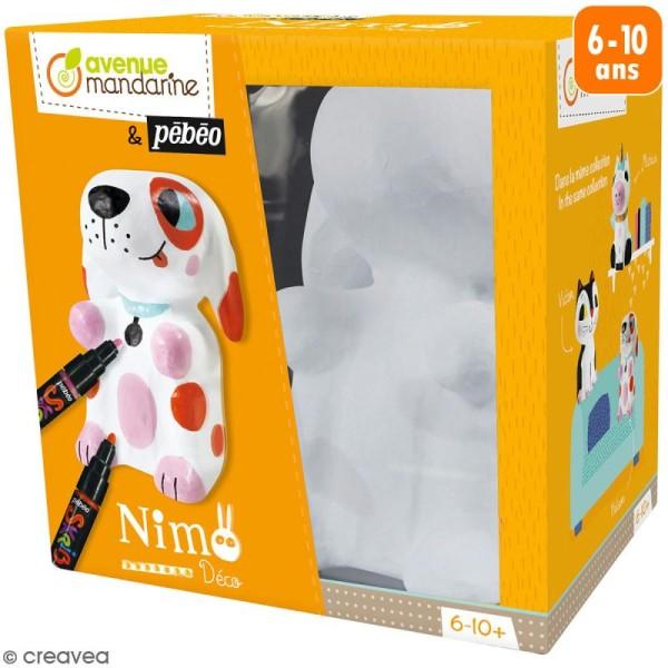 Kit support à décorer Nimo Déco - Nelson le chien - Photo n°1