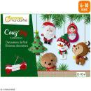 Kit créatif Couz'in Collection - Décorations de Noël - 6 pcs