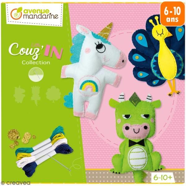 Kit créatif Couz'in Collection - Petits personnages - 3 pcs - Photo n°1
