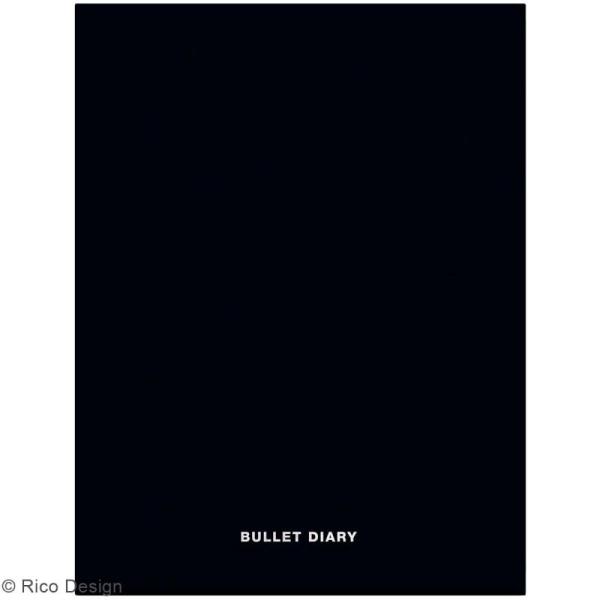 Carnet de poche A5 noir - Couverture souple - 16 x 21 pages - Photo n°1