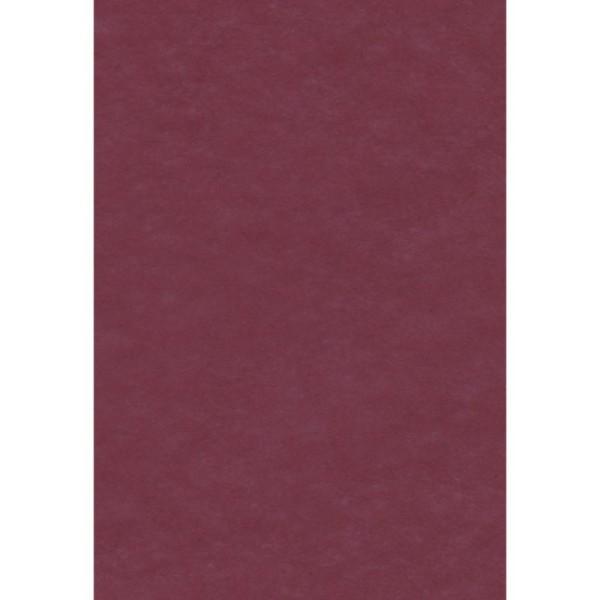 Papier de soie Cassis x 8 feuilles 50 x 75 cm - Photo n°1