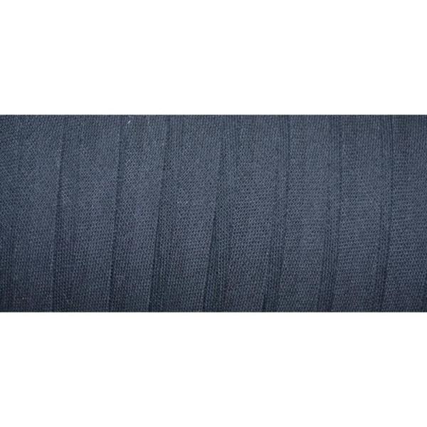 Biais coton replié bleu marine 9*9*4*4 - Photo n°1