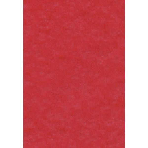 Papier de soie Rouge x 8 feuilles 50 x 75 cm - Photo n°1
