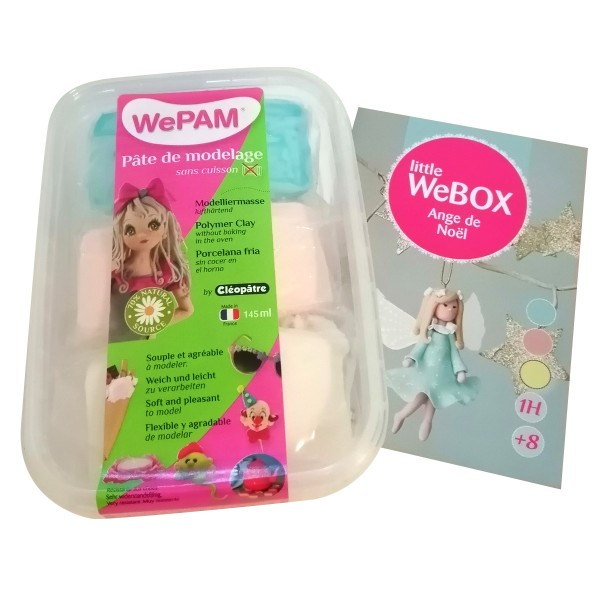 Kit porcelaine froide WePAM - Little WeBOX Ange - Photo n°1