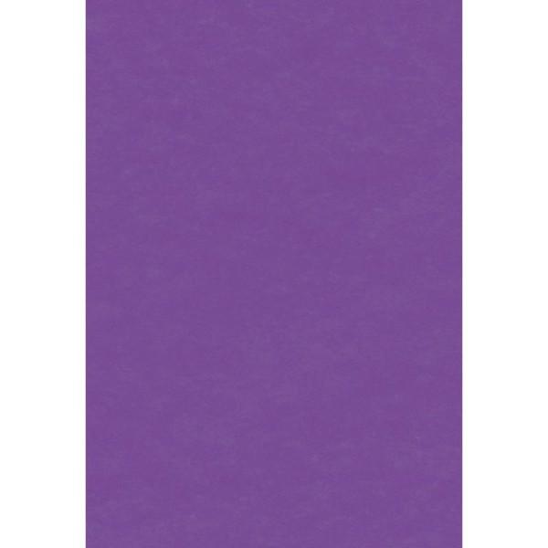 Papier de soie Violet x 8 feuilles 50 x 75 cm - Photo n°1