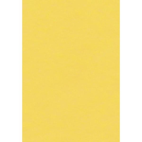 Papier de soie Jaune x 8 feuilles 50 x 75 cm - Photo n°1