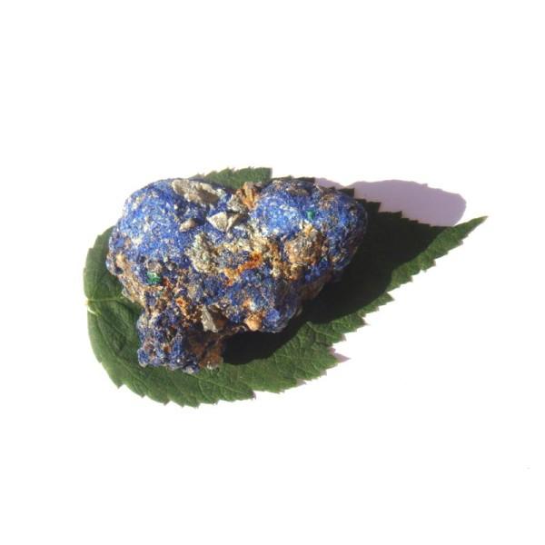 Pierre brute Azurite cristallisé grade A 4.8 CM x 3.7 CM x 2 CM de hauteur max - Photo n°2