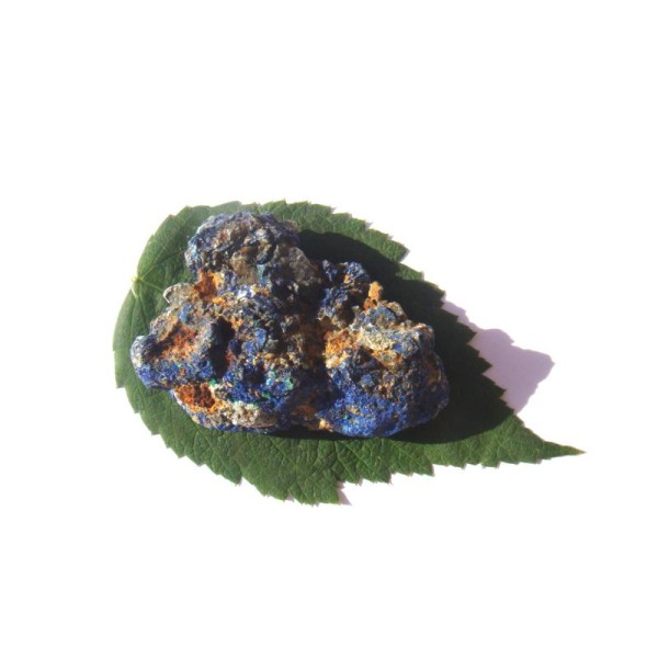 Pierre brute Azurite cristallisé grade A 4.8 CM x 3.7 CM x 2 CM de hauteur max - Photo n°4