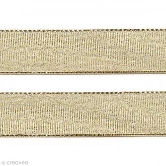 Ruban Liseré - Doré - 12 mm - Au mètre (sur mesure)