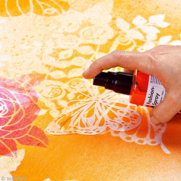 Peinture textile Fashion spray - 100 ml - Photo n°2