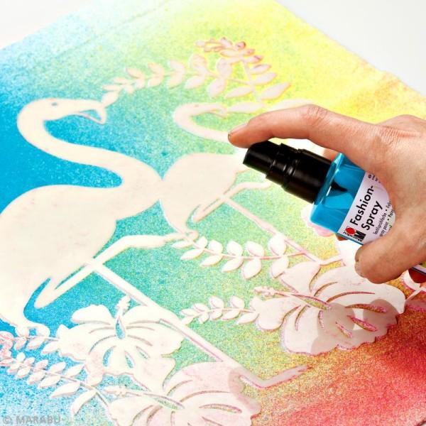 Peinture textile Fashion spray - 100 ml - Photo n°4