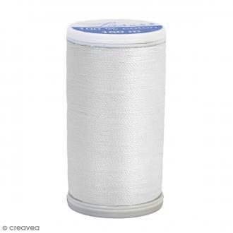 Fil à coudre Laser - Coton - N° 3000 Blanc - 100 m