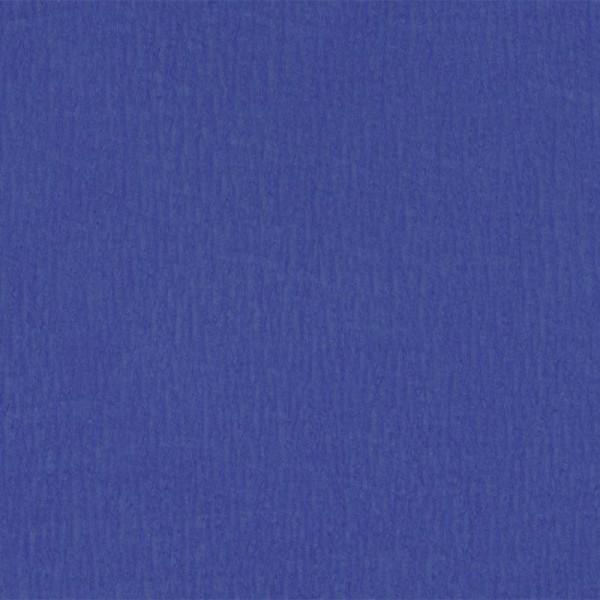 Papier crépon Bleu roi 2,50 m x 0,50 m - Photo n°1
