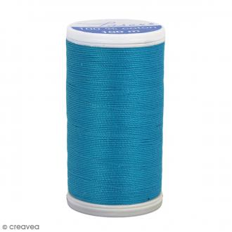 Fil à coudre Laser - Coton - N° 3223 Bleu Bora Bora - 100 m