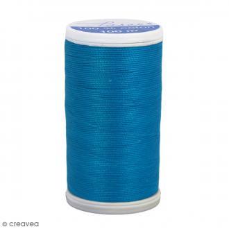 Fil à coudre Laser - Coton - N° 3227 Bleu Mayotte - 100 m