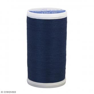 Fil à coudre Laser - Coton - N° 3264 Bleu marine clair - 100 m