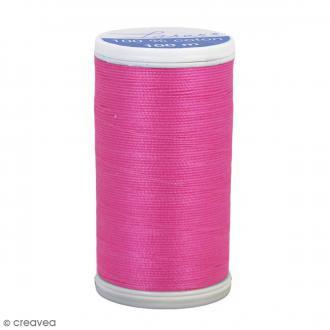 Fil à coudre Laser - Coton - N° 3434 Rose - 100 m