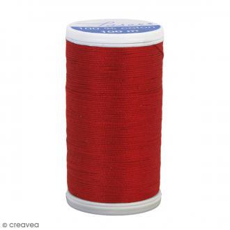 Fil à coudre Laser - Coton - N° 3504 Rouge Cardinal - 100 m