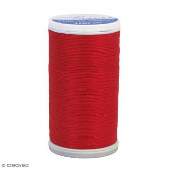 Fil à coudre Laser - Coton - N° 3514 Rouge Vermeil - 100 m