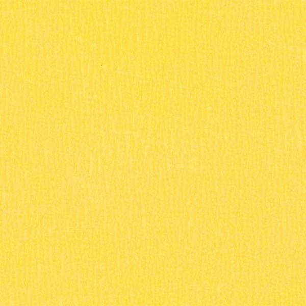 Papier crépon Jaune 2,50 m x 0,50 m - Photo n°1