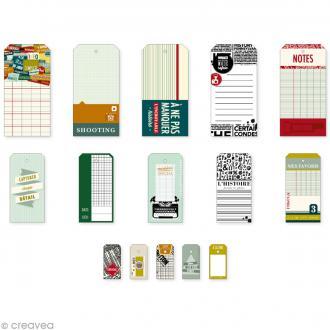 Etiquette Kesi'tags en papier Kesi'Art - Edito - 30 pcs