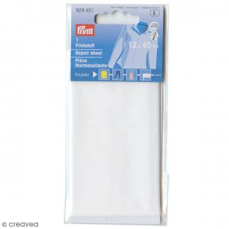 Pièce thermocollante Prym - Uni Blanc - 12 x 45 cm