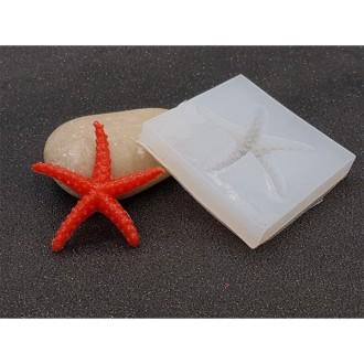 Moule En Silicone étoile De Mer Pour Créations En Résine Ou Fimo