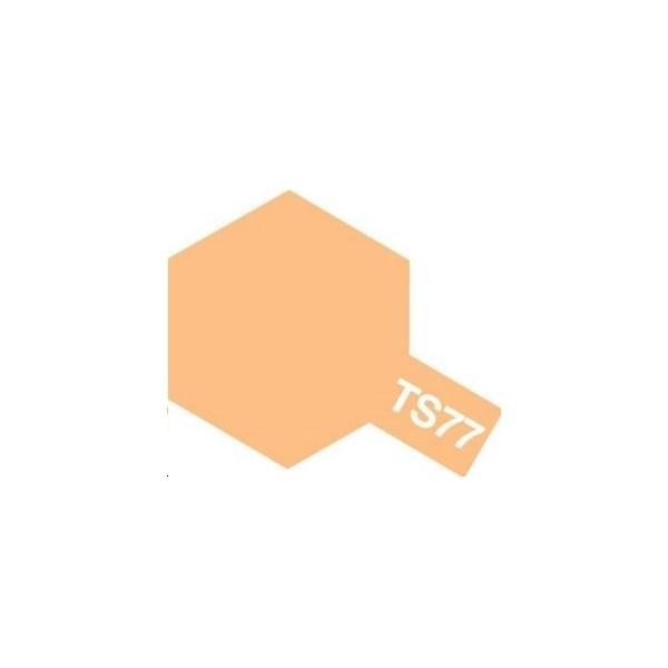 Bombe de peinture Chair mat, 100 ml - Tamiya 85077 - TS77 - Photo n°1