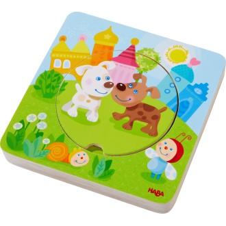Puzzle à couches bébés animaux