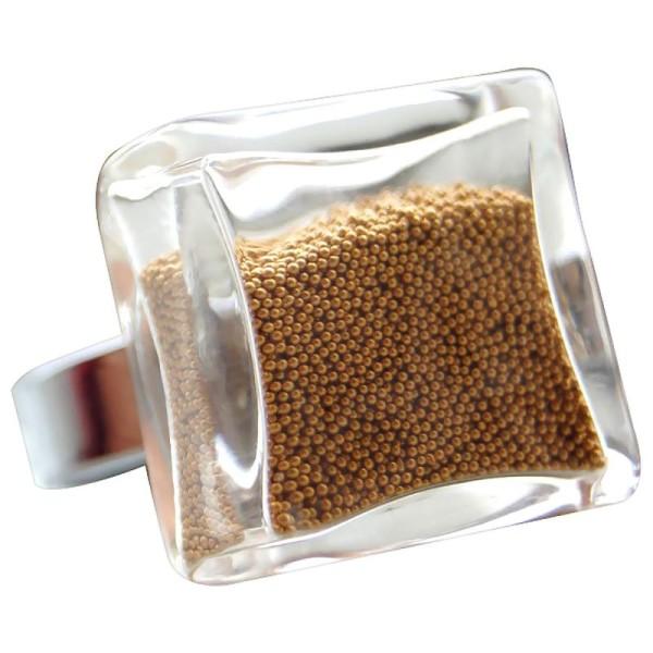 Microbilles en verre 1 mm - Sachet de 25 gr - 6 couleurs - Photo n°2