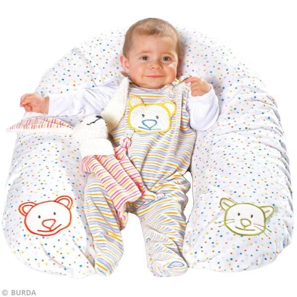 Patron Burda - Enfant - Accessoires pour bébé - 9635 - Photo n°2