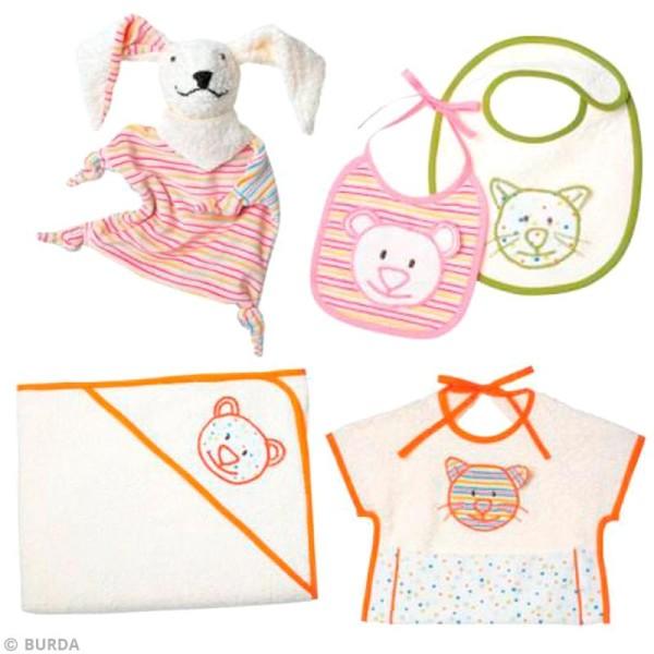 Patron Burda - Enfant - Accessoires pour bébé - 9635 - Photo n°3