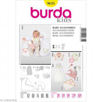 Patron Burda - Enfant - Accessoires pour bébé - 9635