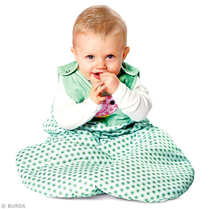 patron burda enfant ensemble de lit pour b b 9479 patron enfant creavea. Black Bedroom Furniture Sets. Home Design Ideas