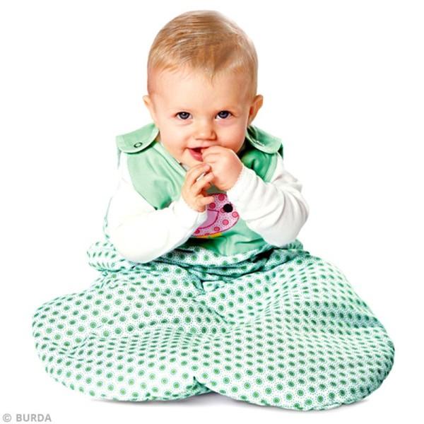 Patron Burda - Enfant - Ensemble de lit pour bébé - 9479 - Photo n°2