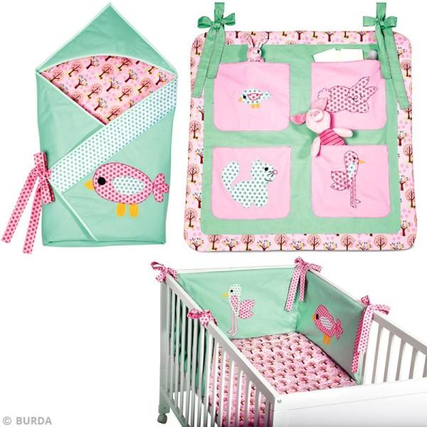 Patron Burda - Enfant - Ensemble de lit pour bébé - 9479 - Photo n°3