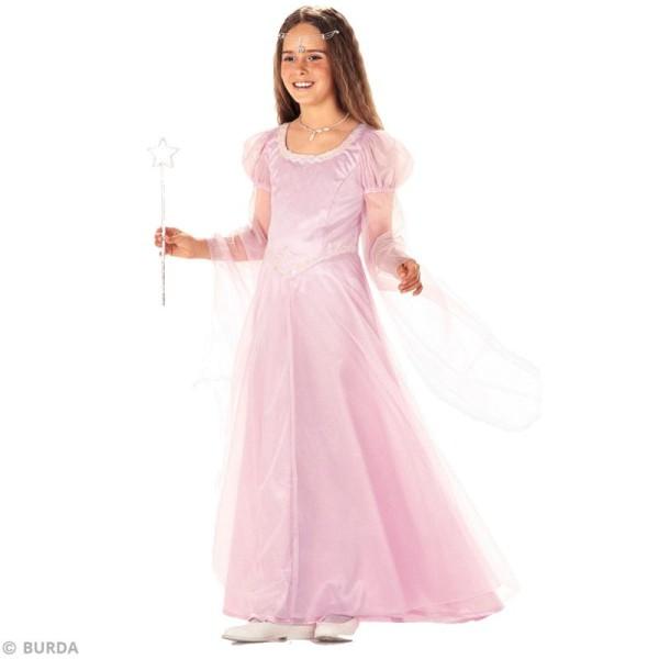 Patron Burda - Enfant - Déguisement de fée et princesse médiévale - 2463 - Photo n°2
