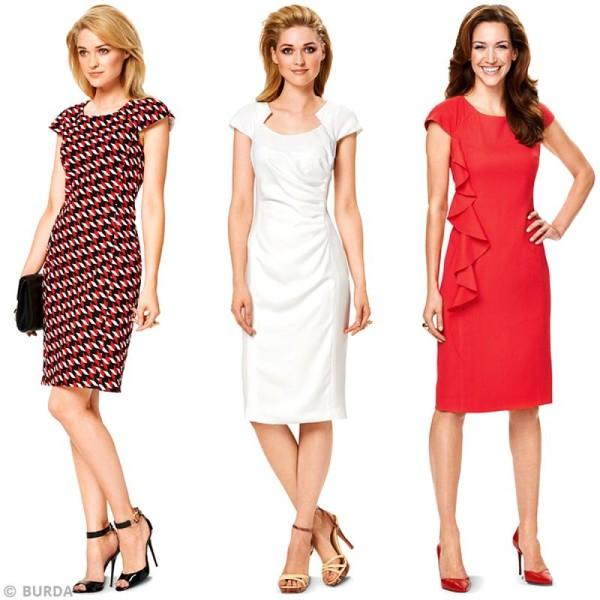 6920 Femme robe Patron élégante Creavea Patron Burda de Robe OIW55wTZq