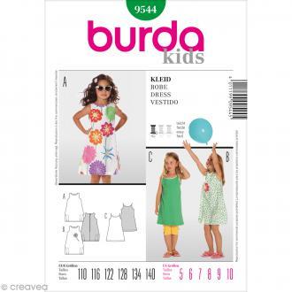 Patron Burda - Enfant - Robe de plage - 9544