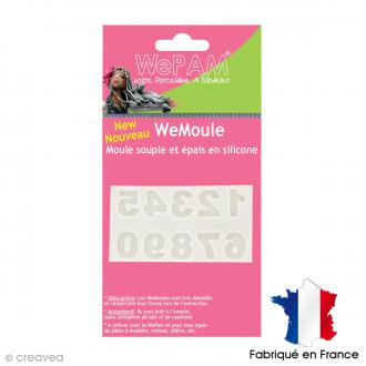 Moule silicone WePAM Chiffres