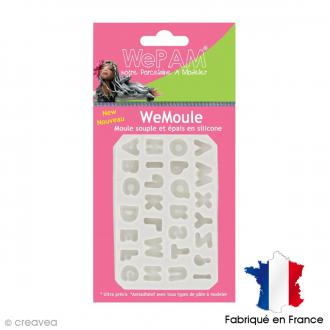 Moule silicone WePAM Alphabet