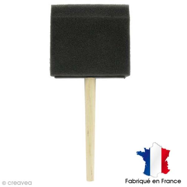 Pinceau mousse 10 cm - Photo n°1