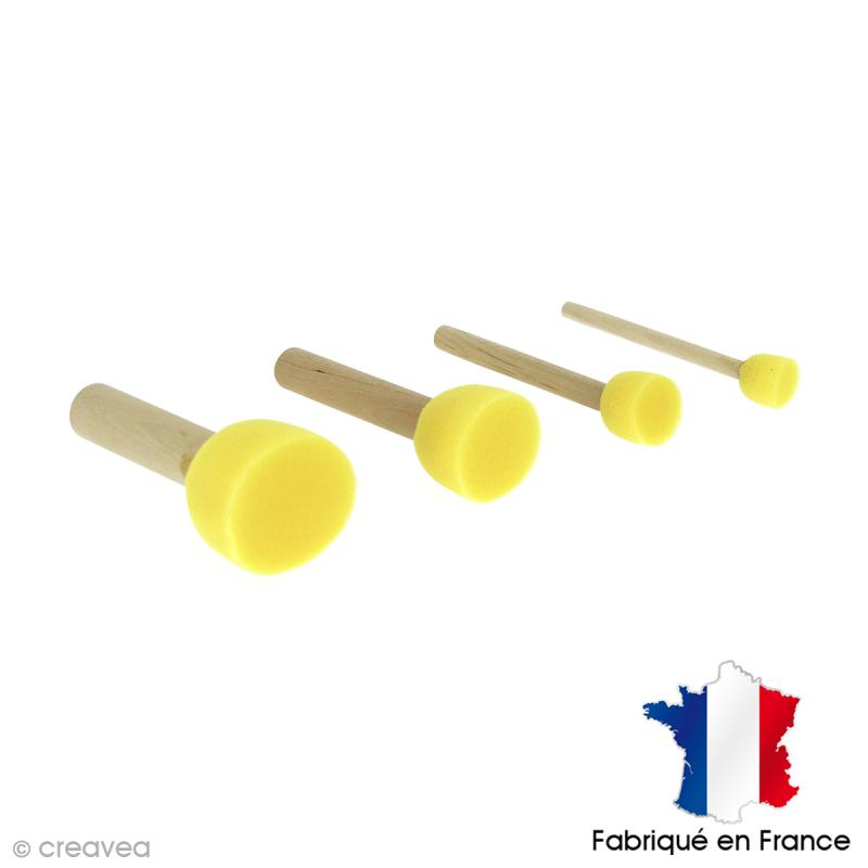 Lot de 4 tampons mousse - Photo n°1