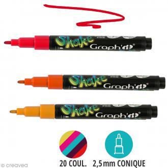 Graph'it shake 2,5 mm