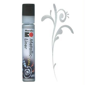 Peinture Metallic Liner Argent 25 ml